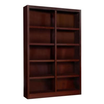 Concepts In Wood Midas Double Wide 10-Shelf Cherry