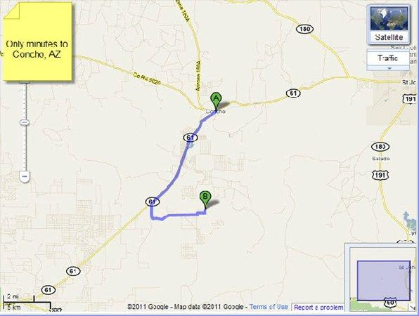 Concho Arizona Map.Concho Az Apache Country Land 2 000000 Acre For Sale In Concho
