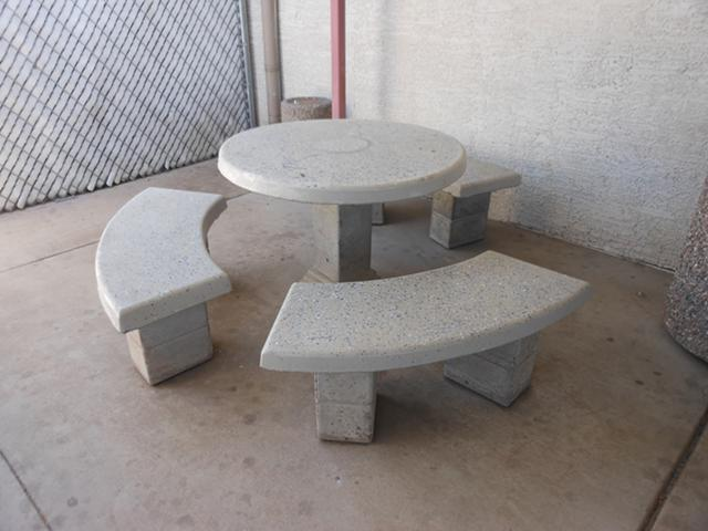 Concrete patio tables for Sale in Phoenix Arizona Classified