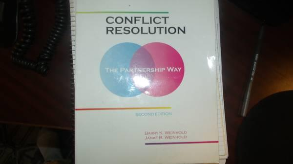 Conflict Resolution - $75