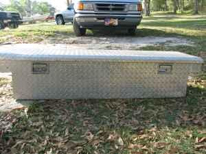 CONTINENTAL TRUCK TOOL BOX - $80 (CHIEFLAND)