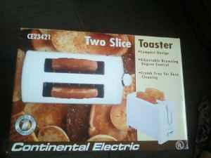 Continental Property Management on Continental Electric Toaster    5  Janesville South Side  For Sale In
