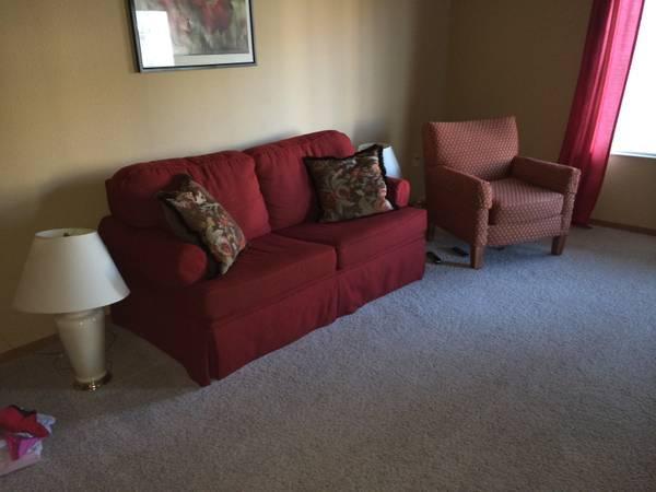 Convertible Sleeper Sofa And Easy Chair 300