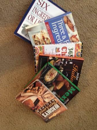 Cookbooks - $5