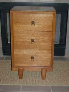 Cool Mid Century Modern Small 3 Drawer Entryway Dresser Austin