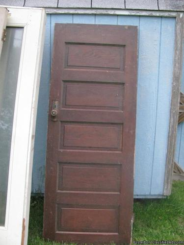 Cool Vintage Wooden Door & 2 Exterior Doors for Sale in Wilmore ...