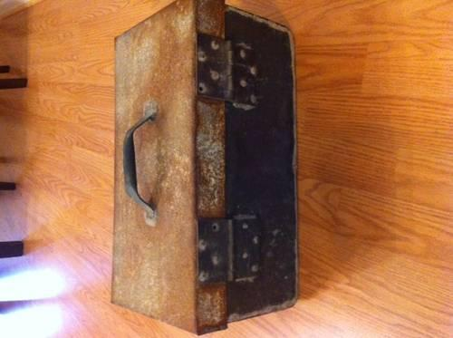 Copper Handmade Tool Box OVER100 years OLD