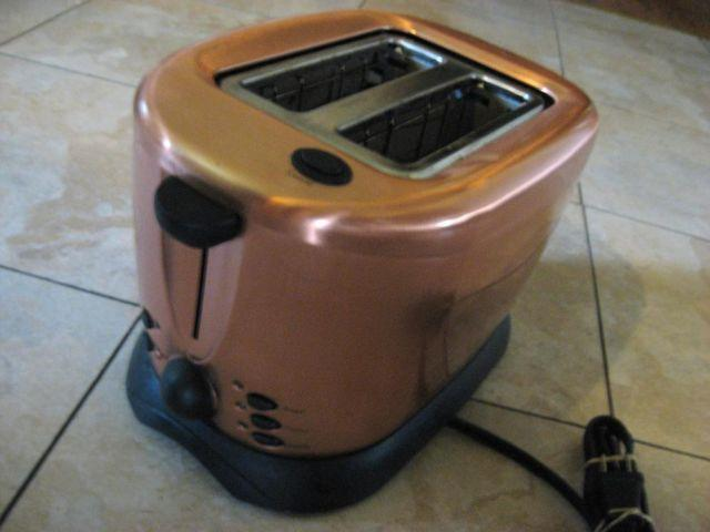 Copper Toaster By Russell Hobbs 2 Slice For Sale In