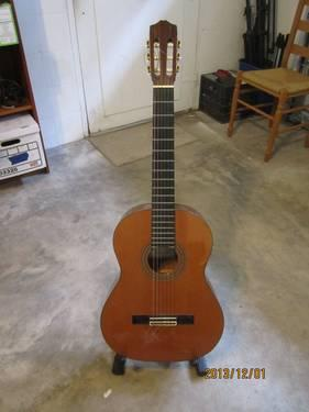 Cordoba 45R Nylon String Acoustic Guitar and Case