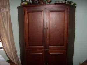 Corner Computer Armoire   $350 (Ocala)