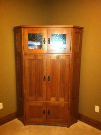Corner Tv Stand Armoire For Sale In Eaton Rapids
