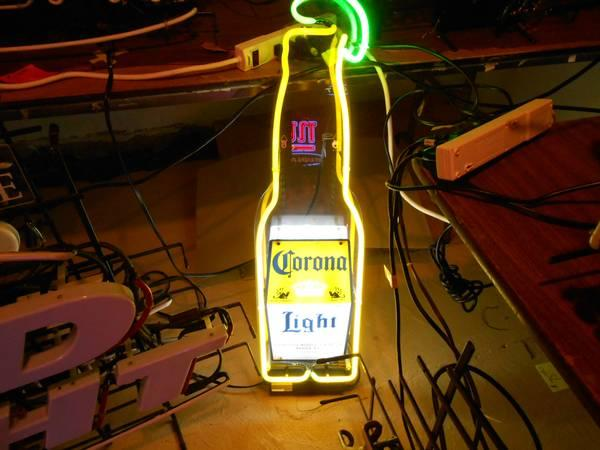 Corona neon beer bar light mancave sign - $90