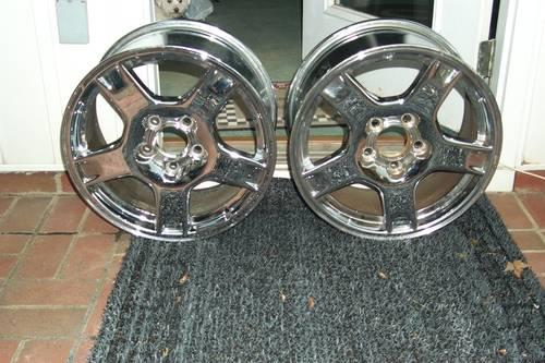 Corvette Wheels (Chrome)