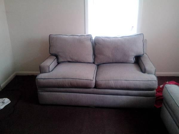 couch and loveseat + queen size mattress in couch -