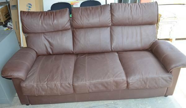 Couch Brown Super Comfortable For Sale In Kingman