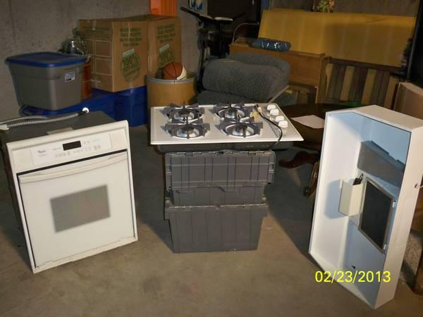 Countertop Stove/Oven/Vent hood - for Sale in Harveyville, Kansas ...