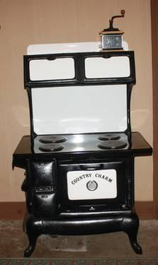 country charm electric cast iron stove for sale in cabool