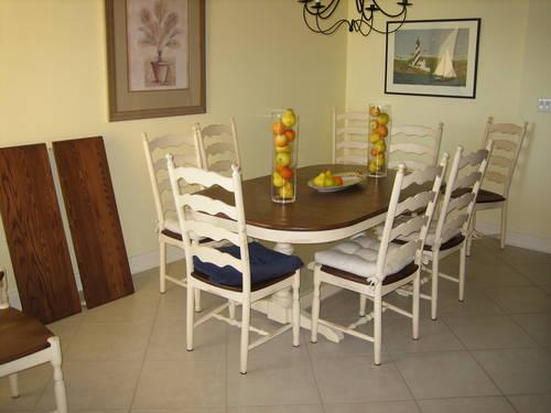 Country French Solid Hardwood Athol Dining Set 10 Chairs