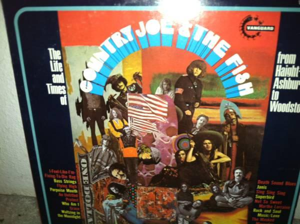 Country Joe and The Fish Vinyl - $15