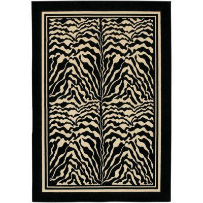Couristan Everest Zebra 5 Ft. 3 In. X 7 Ft. 6 In. Area Rug