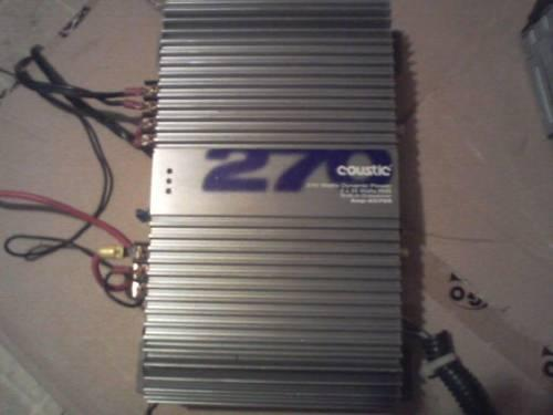 Coustic 400 watt amp