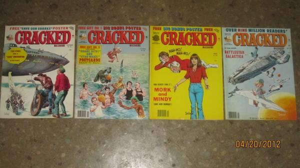 Cracked Collectable Magazines - $2