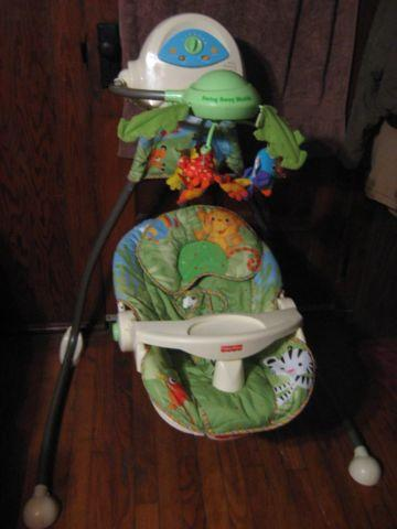 Cradle  Swing Mobile Rainforest by Fisher Price