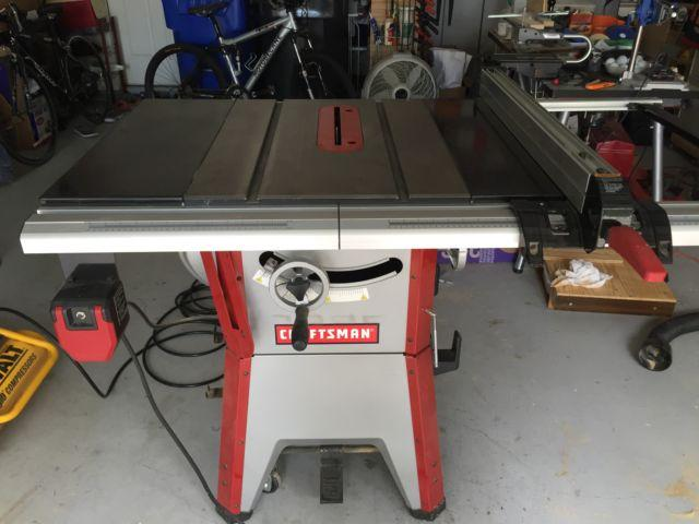 Craftsman 10 Contractor Table Saw Used For Sale In Tampa Florida Classified