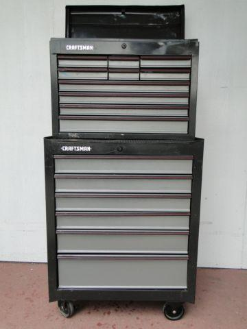 Craftsman 10 Drawer Top 6 Dr Bottom Roll Around Toolbox Tool Box Chest