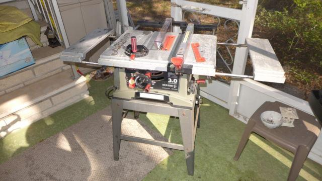 Craftsman 10 Table Saw $75 with stand