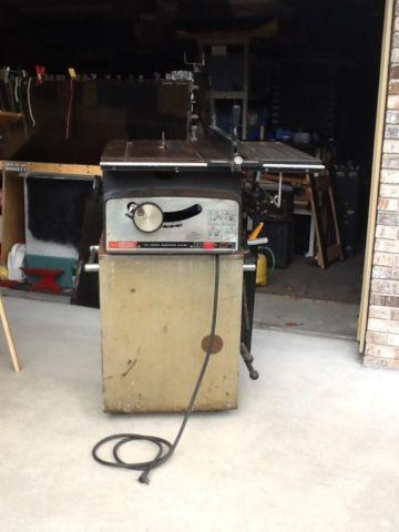 Craftsman 10 Table Saw with Stand