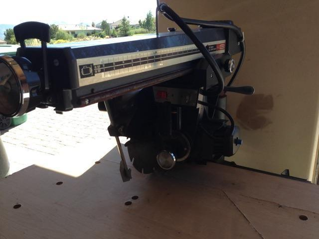 Craftsman 12 Radial Arm Saw - $250.00 Reno