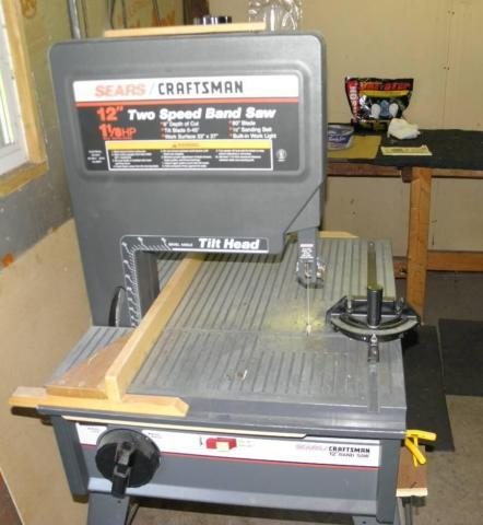 Craftsman 12 Tilt 2 Speed Band Saw  Ridgid BeltSpindle Sander