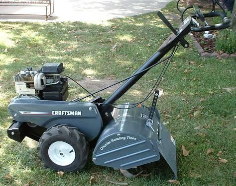 CRAFTSMAN 17 5 hp HEAVY DUTY REAR TINE TILLER for Sale in