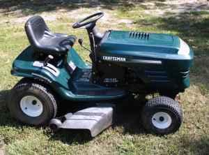 Craftsman 19 5 Hp Hydrostatic Drive Riding Mower Spring