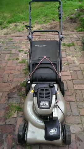 Craftsman 21 Mulcher Lawn Mower With Bag