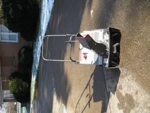 Craftsman 3/20 snow blower w/electric start - $125