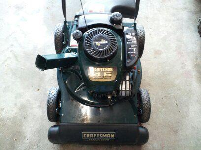 Craftsman 4 5 Hp Yard Vacuum Chipped Shredded Blower