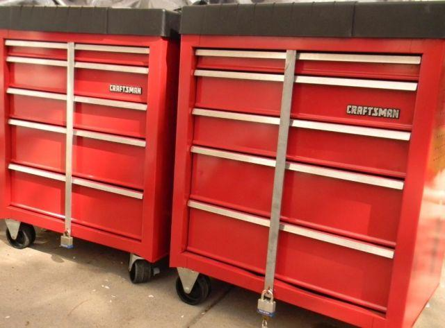 Craftsman 5 Drawer Rolling Project Center Tool Cabinet