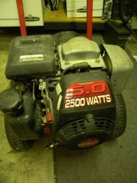Generac 15000 Watt Generator >> Craftsman 5HP 2500 Watt Portable Generator for Sale in Pinellas Park, Florida Classified ...
