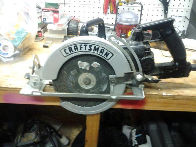 "Craftsman 7 1/4"" Wormdrive Circular Saw For Sale In Joshua"