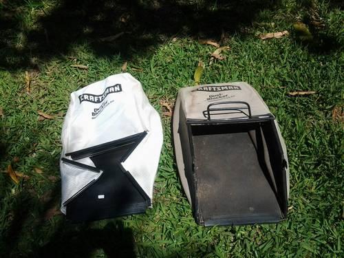 Craftsman dust blockers EZ empty grass catcher bags