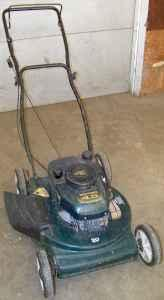 Craftsman Eager 1 One Pull Start 4 5 Hp Lawn Mower