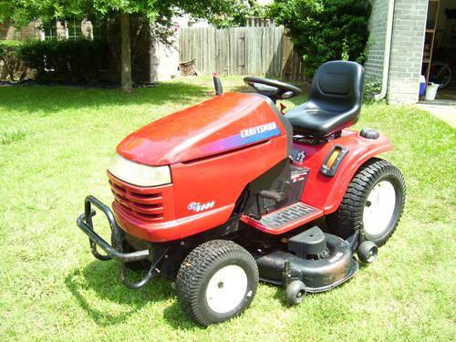 2004 Craftsman Gt5000 Garden Tractor : Craftsman gt kohler pro v twin riding tractor