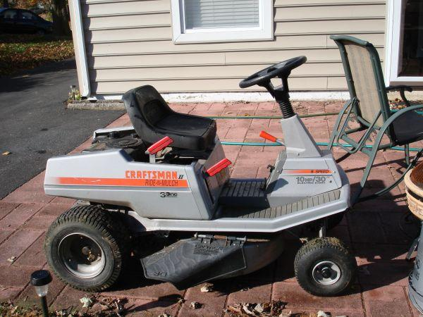 Sears Craftsman Lawn Tractor Parts Pictures to pin on Pinterest