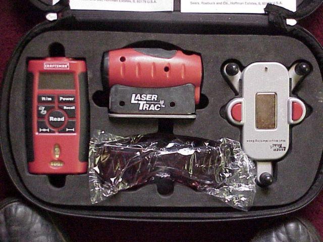 CRAFTSMAN Laser measuring tool  Laser Trac Level Kit New