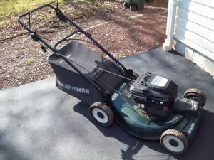 Craftsman Lawn Mower 6hp Self Propelled W Rear Bag