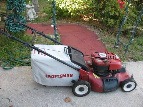 Lawn Mower Repair: Craftsman Self Propelled Lawn Mower Repair