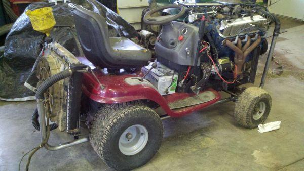 Craftsman 2000 Series Mower : Craftsman mower series with ford v near complete
