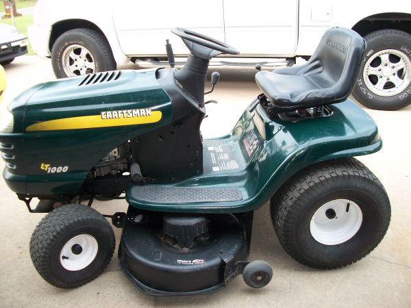 Craftsman Mower LT1000 - $650 (Chesapeake)